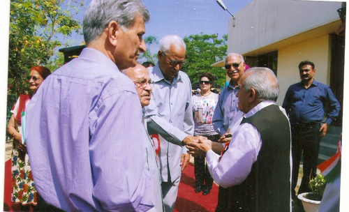 Sh. N.N Vohra, His Excellency, The Governor of J&K State, Visiting the  BALGRAN On Annual Day Function of Bal Bharti Public School.